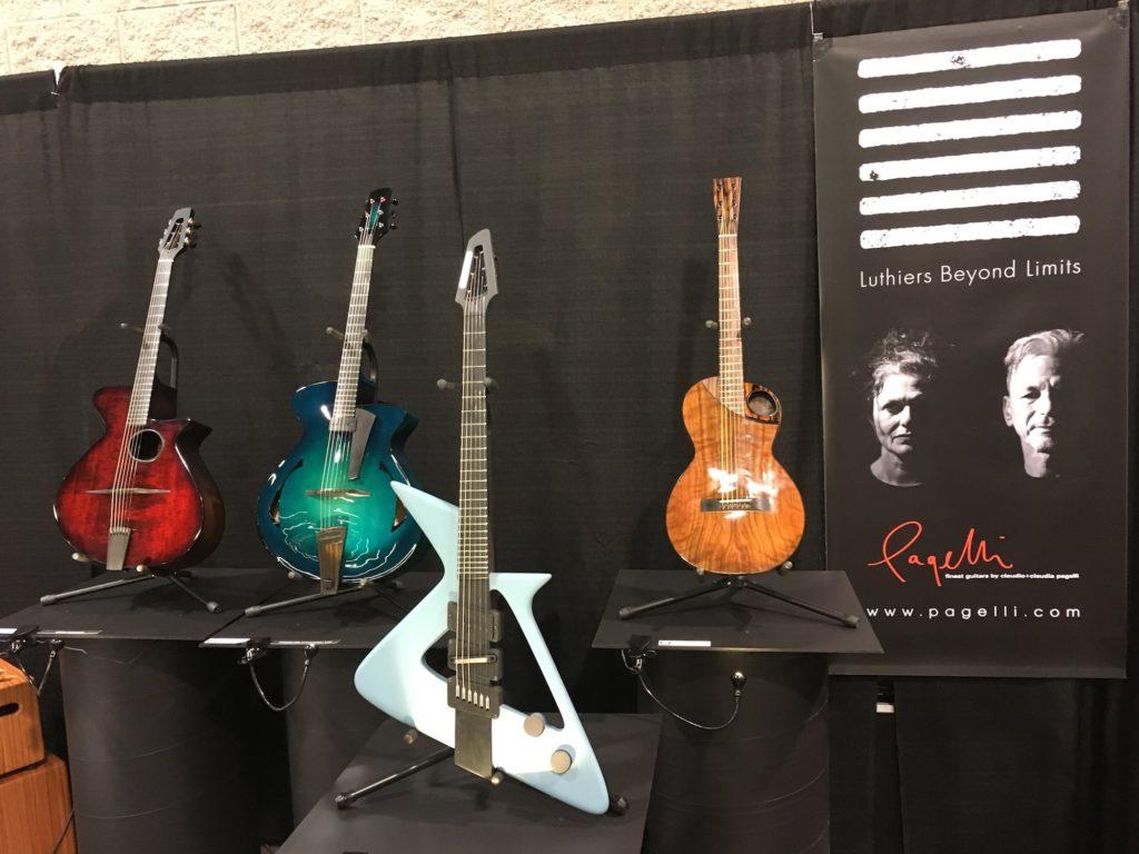 Pagelli - Luthiers Beyond Limits: Alquier, Beauregard, Klein, Mastuda, Pagelli, Tao - NAMM 2018