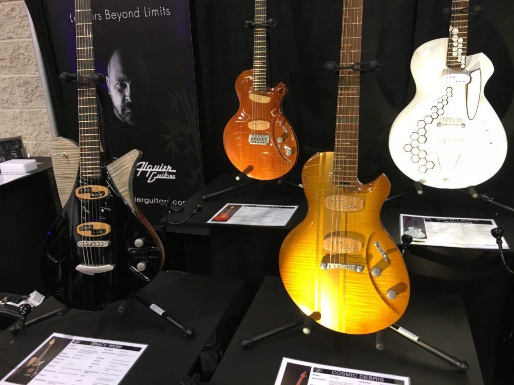 Alquier Guitars - Luthiers Beyond Limits: Alquier, Beauregard, Klein, Mastuda, Pagelli, Tao - NAMM 2018