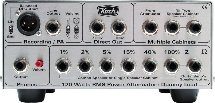 Guitar amp mic shootout - Shure SM57, SM58 and Koch loadbox LB-120 II