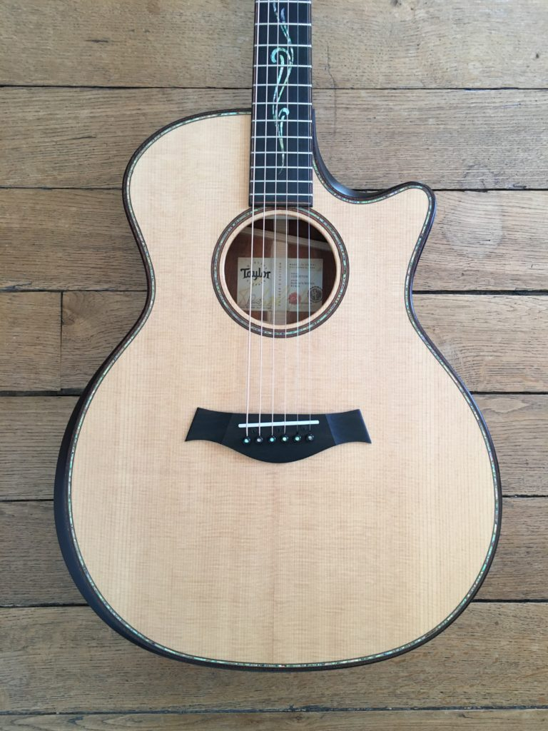 Guitar Review - Taylor K14ce Builder's Edition - New V-class bracing - The Guitar Channel
