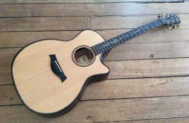 Guitar Review - Taylor K14ce Builder's Edition - New V-class bracing