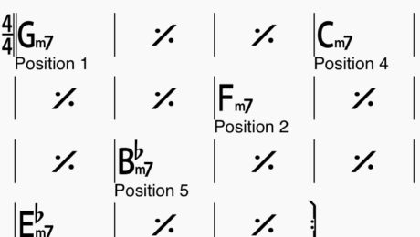 Master the 5 positions of the pentatonic scale in a 5 fret zone