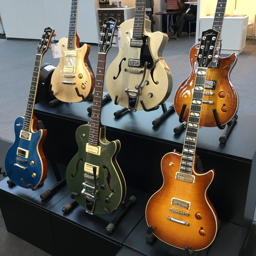 2018 Musikmesse debrief: less show, more business - Godin Guitars