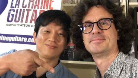 Shawn Cho interview - Vola Guitar CEO at the the showroom