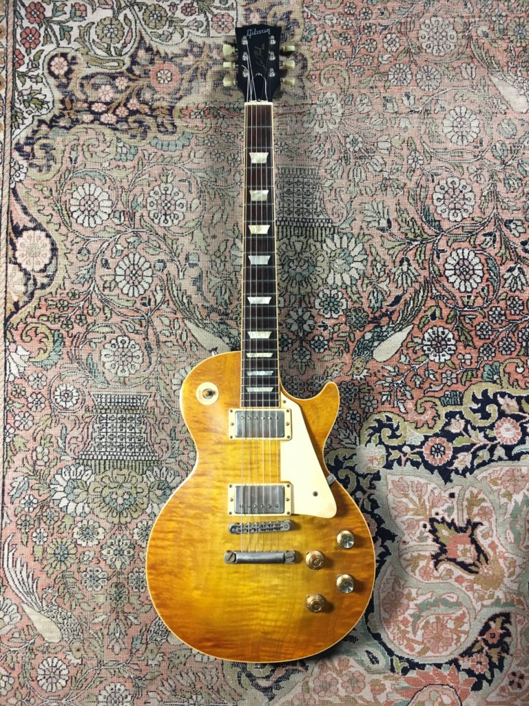 "Guitar Review - 2007 Gibson Les Paul Faded ""Peter Green"" modded by Larry Corsa"