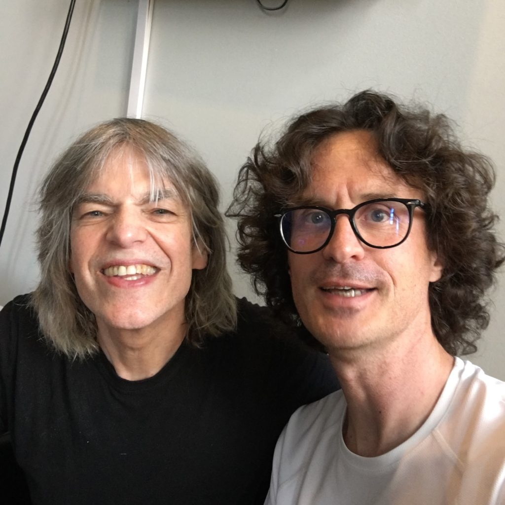 Mike Stern interview - 2018 Montreal Jazz Festival - Selfie with Pierre Journel