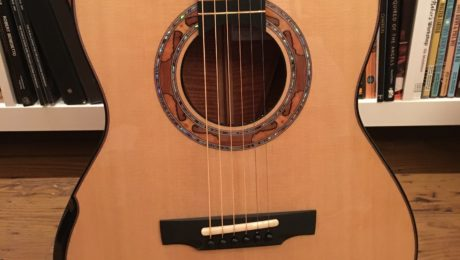 Michael Greenfield luthier - Presentation of a Greenfield G3 model