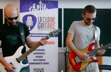 When Pascal Vigné and Saturax play Joe Satriani