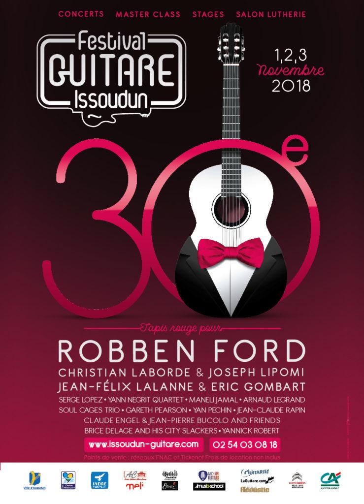 2018 Festival Guitare Issoudun
