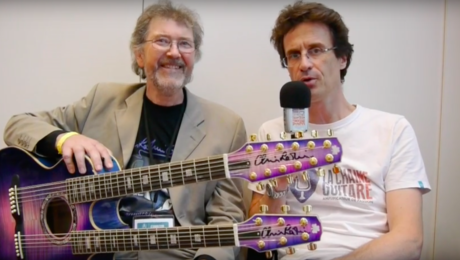 Tribute to a great luthier - Chris Larkin interview at the 2016 Holy Grail Guitar Show