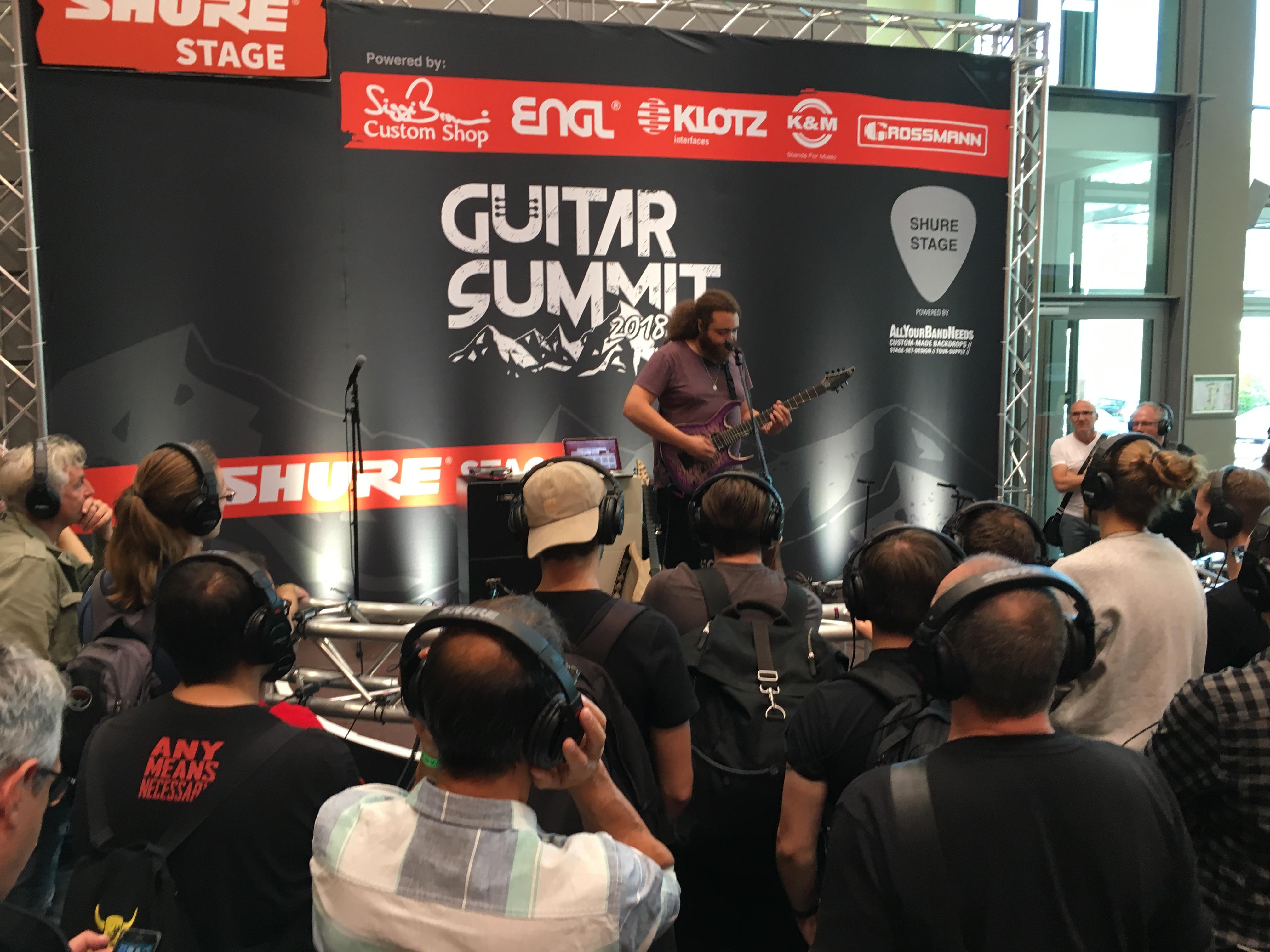 Guitar Summit 2018 - Video blogging - Day 2
