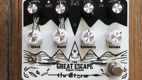 Pedal Review - Thrilltone Great Escape pedal - Dynamic Tremolo