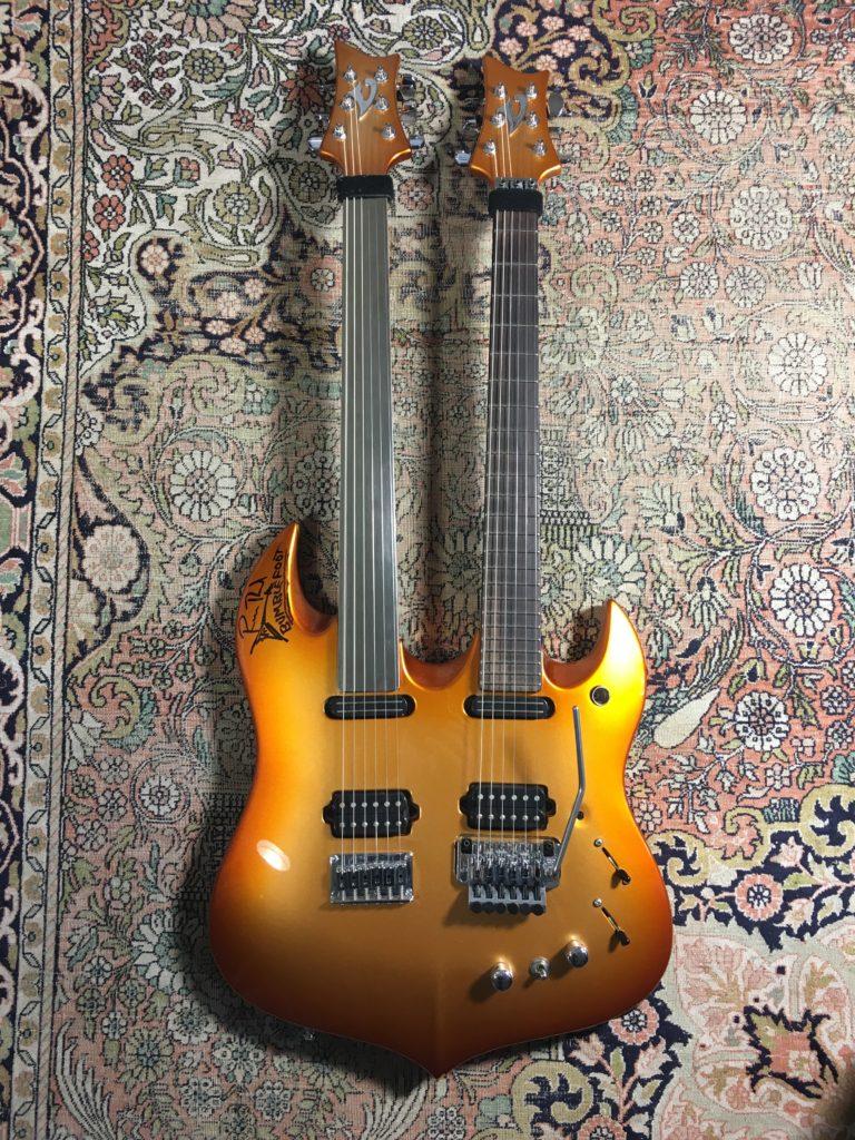 Ron Bumblefoot Thal double neck Vigier - Matt's Guitar Shop chronicle