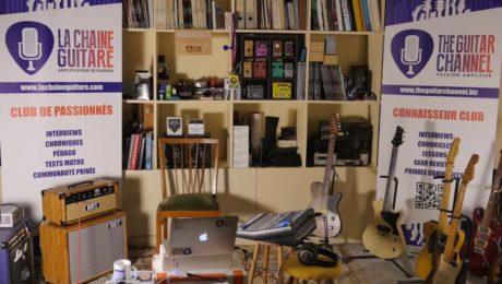 The Guitar Channel showroom - Paris, France