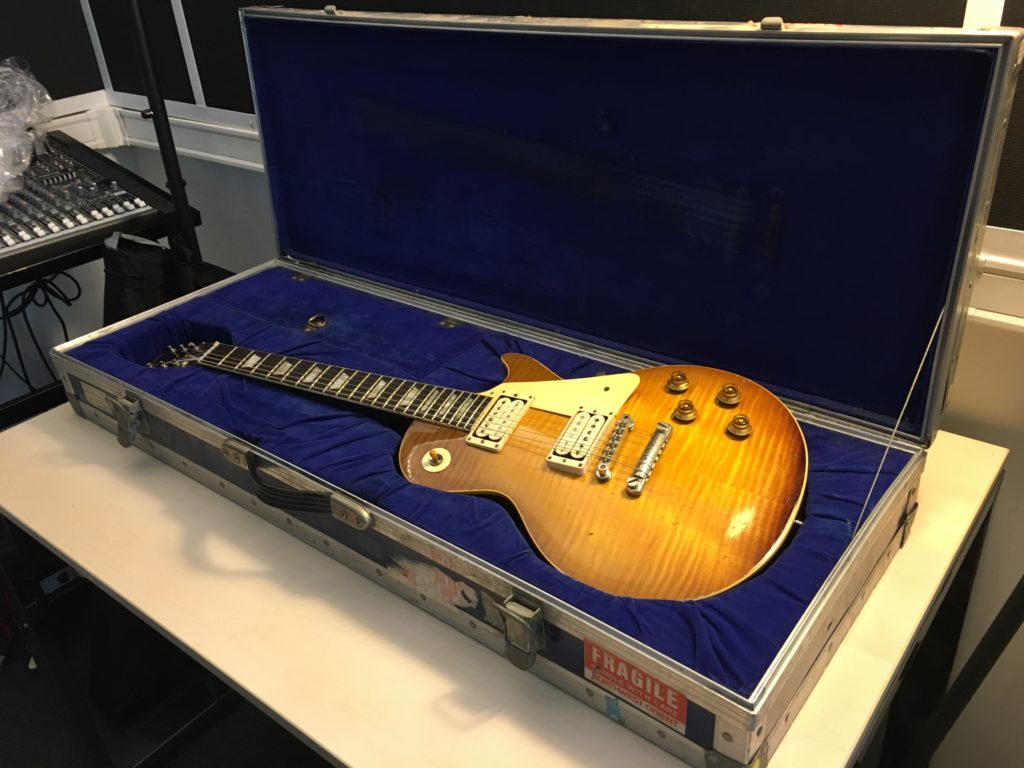 "2018 Vintage Guitar Afternoon - Organized by The Guitar Channel - 1959 Gibson Les Paul Standard ""Spot"" owned by Bonamassa"