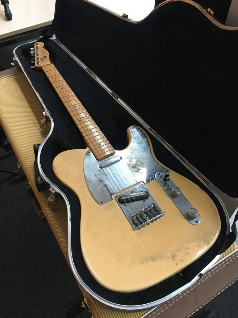 2018 Vintage Guitar Afternoon - Organized by The Guitar Channel - Jeff Buckley's Telecaster