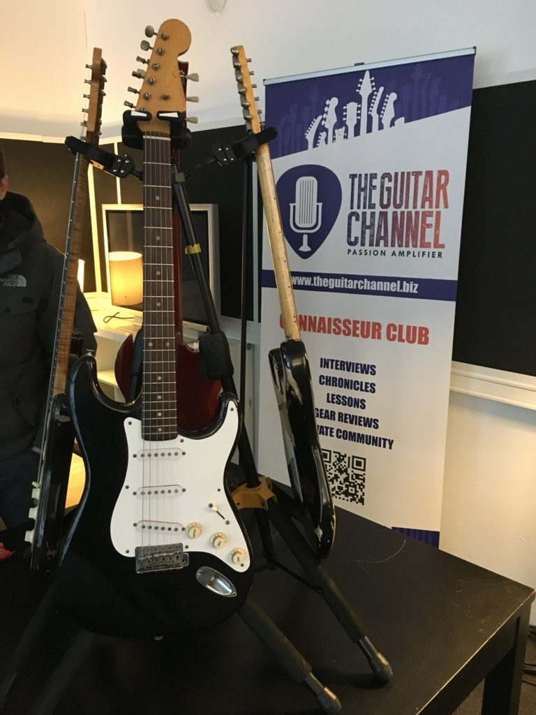 2018 Vintage Guitar Afternoon - Organized by The Guitar Channel - David Knopfler Strat