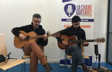 Shaï Sebbag and Maneli Jamal interview - 2018 Festival Guitare Issoudun