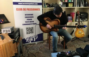 Showroom session - Archtop and solidbody shootouts - Miguel Castro