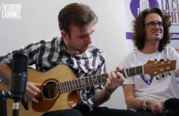 Gareth Pearson interview - A great fingerpicker discover during the 2018 Issoudun festival