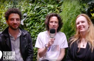 Heike Matthiesen and Sebastian Pecznik interview - 2017 Musikmesse