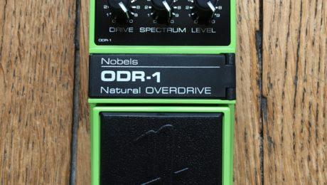 Pedal Review - Overdrive Nobels ODR-1: cool natural sounding drive tones