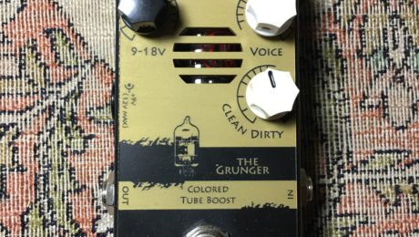 Pedal Review - The Grunger - Tube powered booster from Sabelya