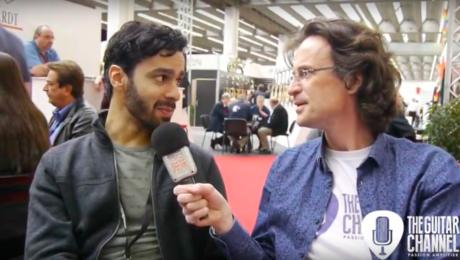 Maneli Jamal interview - Musikmesse 2017