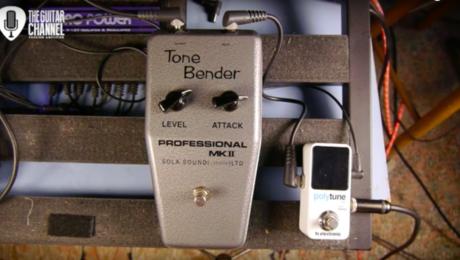 Pedal Review - Tone Bender Mk II: legendary pedal, legendary tones!