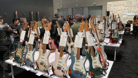 NAMM 2019 - Day 0 - Fender Custom Shop event