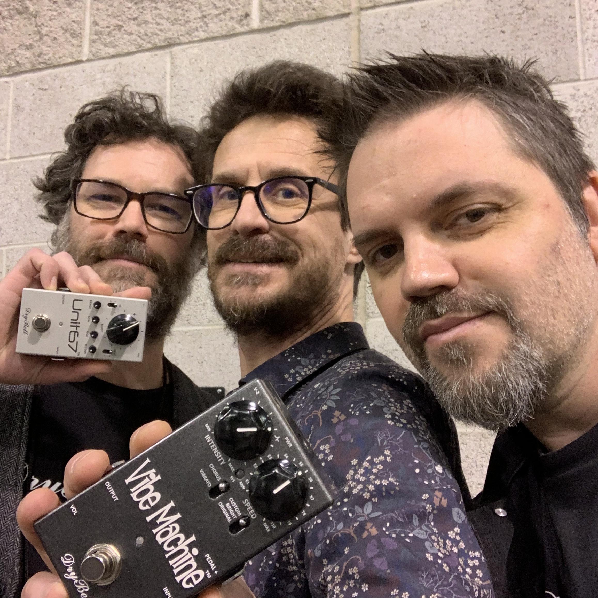 Interview Kruno et Tom des pédales Drybell - NAMM 2019