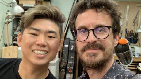 NAMM 2019 debrief - Luthier Isaac Jang interview