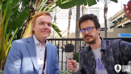 Hendrik Müller interview - The Musikmesse at the NAMM 2019