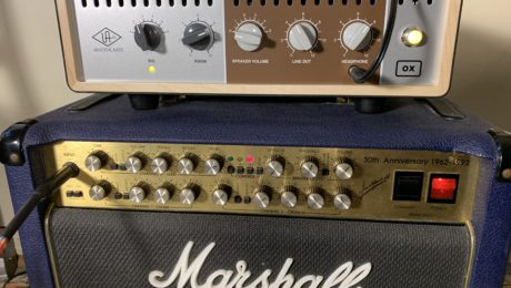 Gear Review - OX Amp Top Box Universal Audio / Marshall 6101 amp
