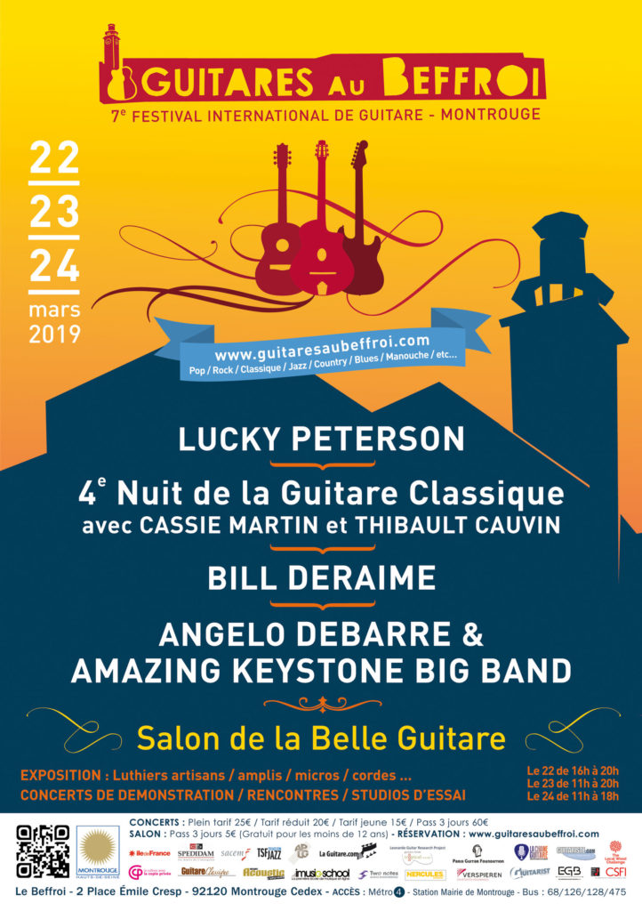 2019 Guitares au Beffroi festival (Montrouge, France) - Jean Michel Proust interview