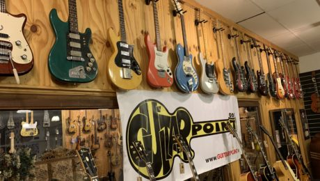 Guitar Point visit - The best Vintage guitar store in Europe? Probably!