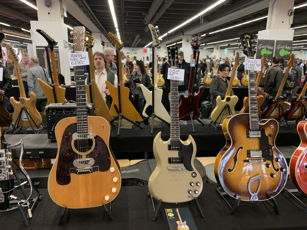 Visit of the 2019 Musikmesse Pop-Up Market - First edition
