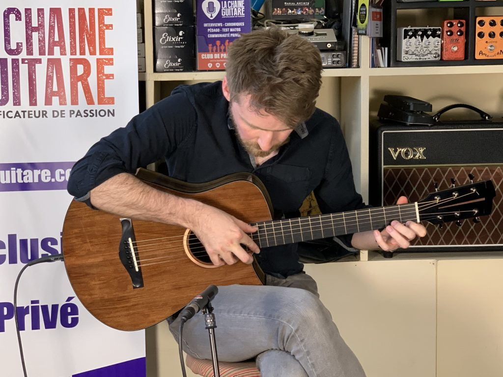 Will McNicol Guitar in Hand interview - High-class Fingerstyle