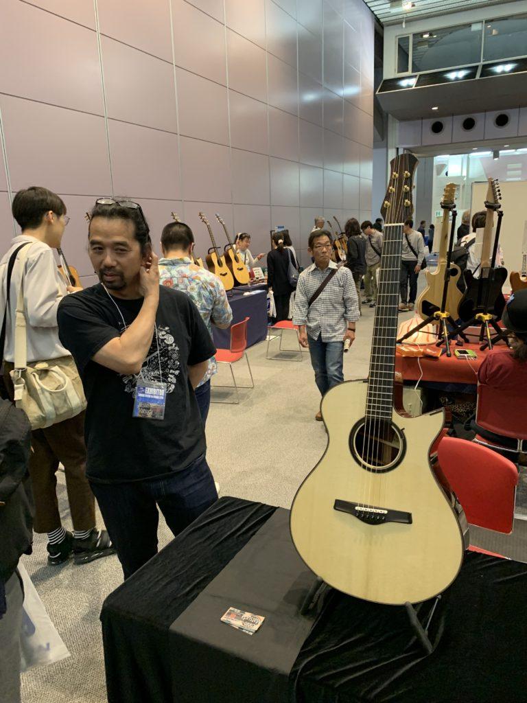 Michihiro Matsuda luthier interview - 2019 Sound Messe Osaka