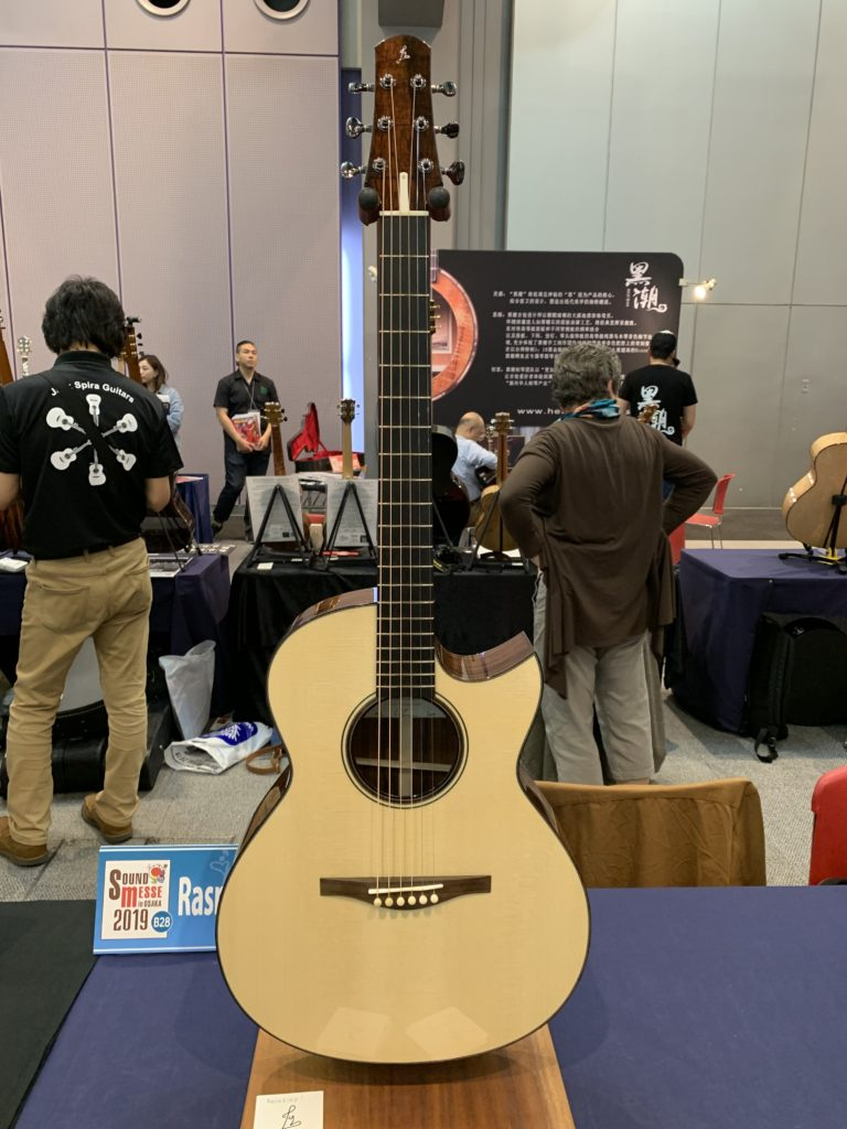 Lars Rasmussen luthier interview – 2019 Sound Messe Osaka