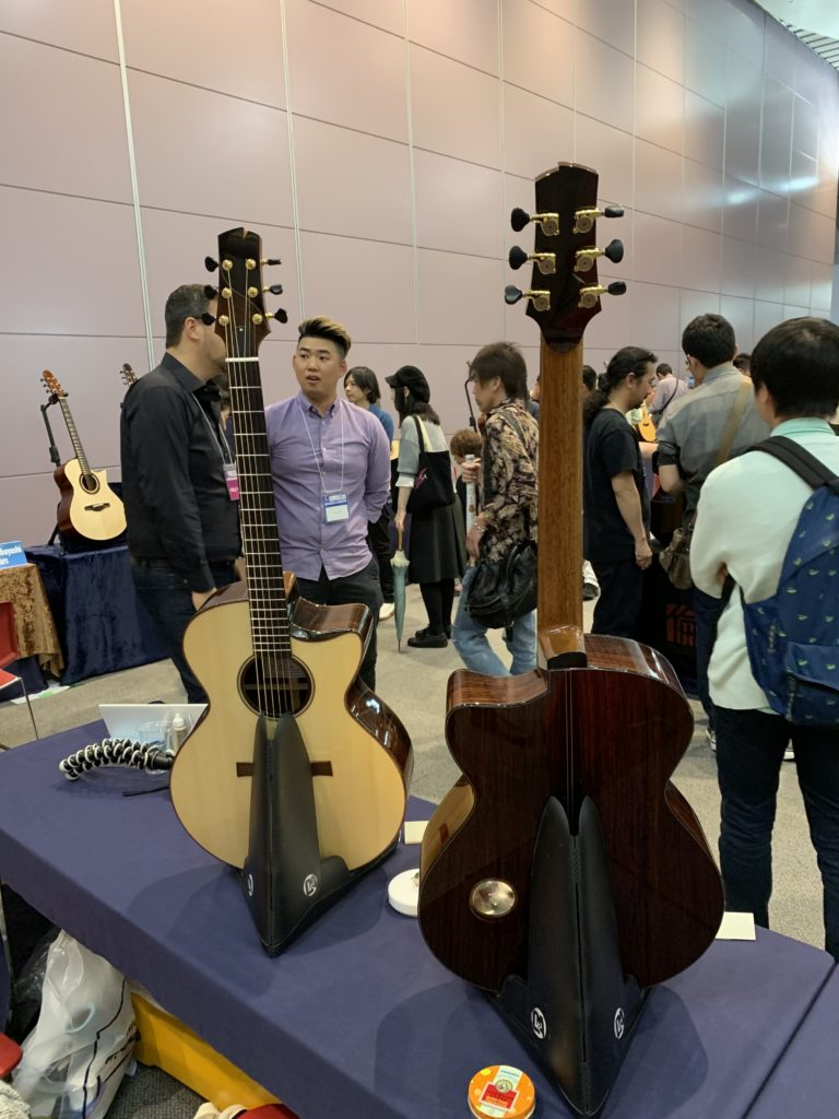 Isaac Jang luthier interview - 2019 Sound Messe Osaka