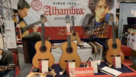 Alhambra Guitars reconquering Japan again - Interview in Osaka
