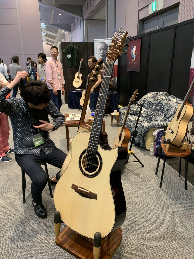 Keisuke Nishi luthier interview - Keystone Stringed Instrument - 2019 Sound Messe Osaka