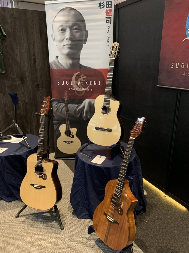 Interview luthier japonais Kenji Sugita - Sound Messe Osaka 2019