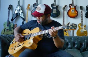 Kirk Fletcher interview guitar in hand - Joe Bonamassa guitar player and more