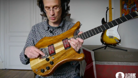 1983 Vigier Arpège, a very uncommon French guitar built by Patrice Vigier