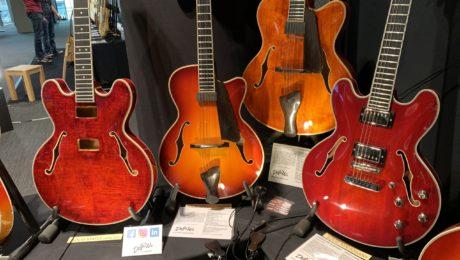 DejaWu Guitars at the 2019 Guitar Summit, interview with Derk Jan Lievers