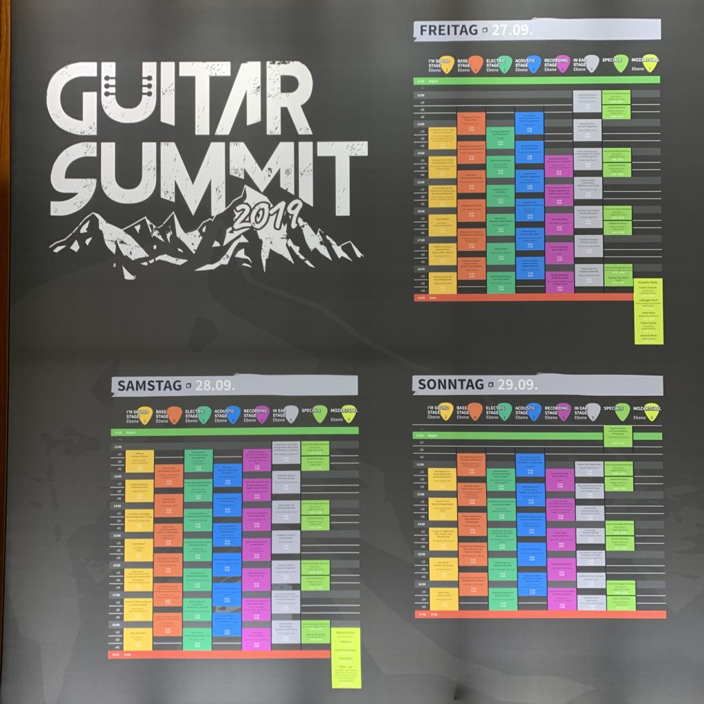 Guitar Summit 2019 - Day3: a great Sunday full of guitars