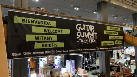 Guitar Summit 2019 - Preview of the setup and installation the biggest guitar show in Europe