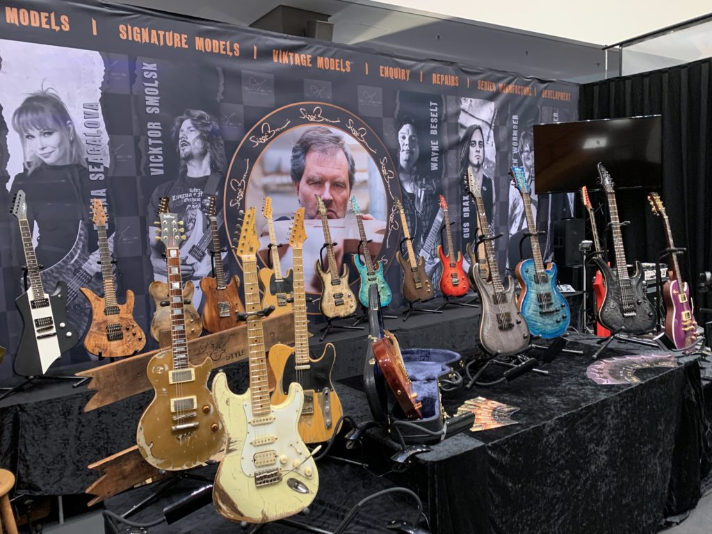 Guitar Summit 2019 - Preview of the setup of the biggest guitar show in Europe